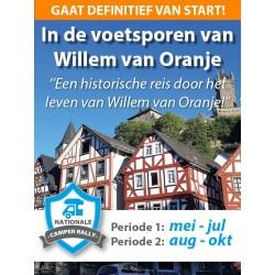 In de voetsporen van Willem...