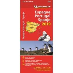 Michelin Wegenkaart Spanje...