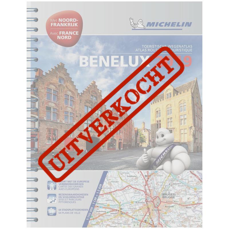 Michelin BeNeLux 2019 Toeristische wegenatlas