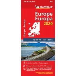 Michelin Wegenkaart Europa...