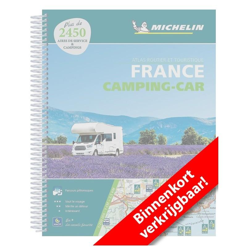 Michelin Frankrijk wegenatlas speciaal voor de camper