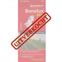 Michelin Wegenkaart BeNeLux...